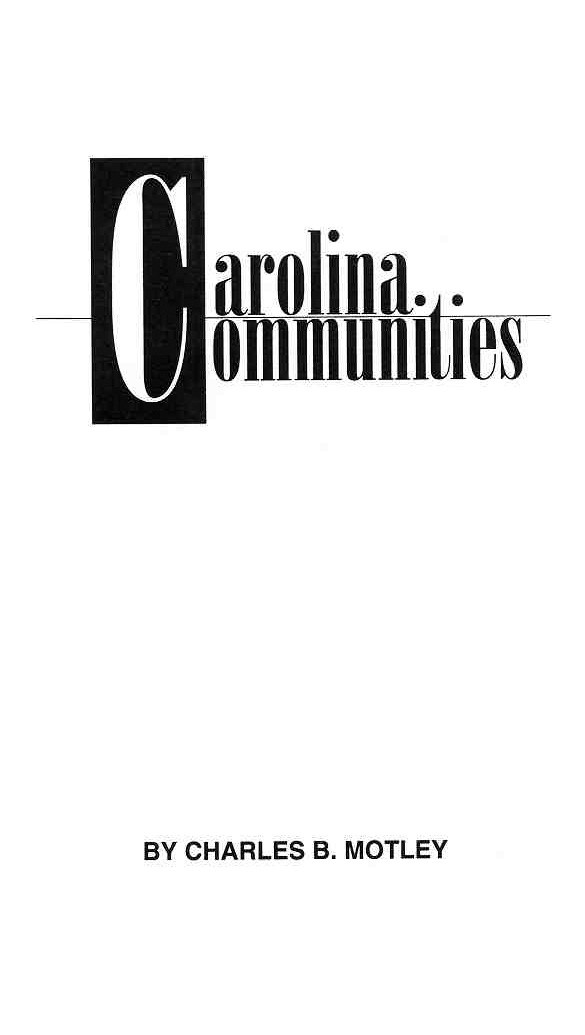 Carolina Communities