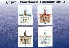 Caswell County Courthouse Calendar 2000